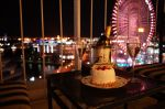 ホテルケーキ夜景