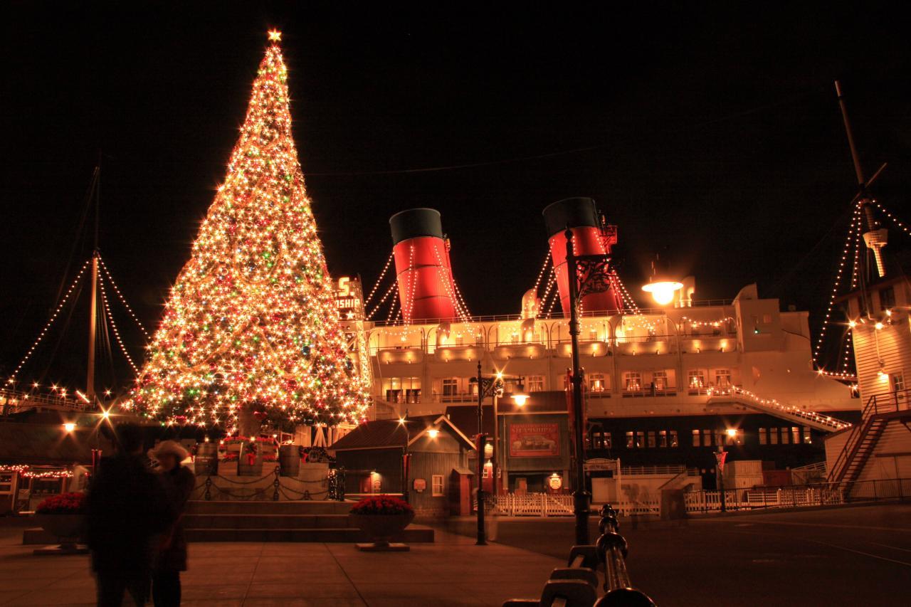 クリスマスのデコレーション : 東京ディズニーシー クリスマス 2014