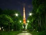 東京タワー芝公園夜景